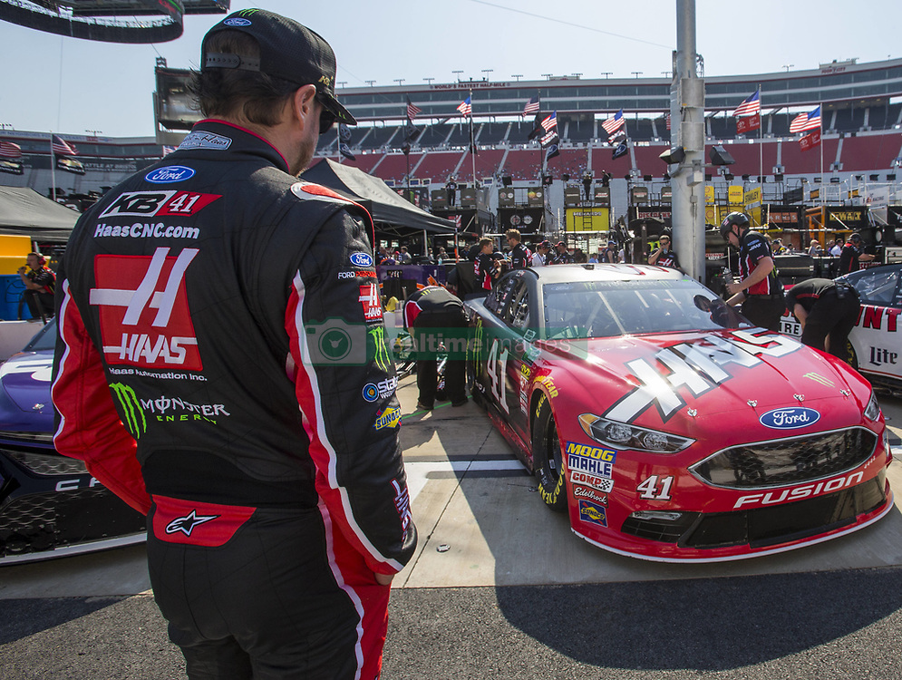 April 13, 2018 - Bristol, Tennessee, United States of America - April 13, 2018 - Bristol, Tennessee, USA: The Monster Energy NASCAR Cup Series teams take to the track for the Food City 500 at Bristol Motor Speedway in Bristol, Tennessee. (Credit Image: © Stephen A. Arce/ASP via ZUMA Wire)