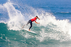 Joan Duru of France advances to Round Three of the 2017 Hurley Pro Trestles after defeating Nat Young of the USA in Heat 7 of Round Two at Huntington Beach, CA, USA.