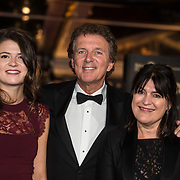 NLD/Amsterdam/20171012 - Televizier-Ring Gala 2017, Robert ten Brink en partner Roos Cialona en dochter