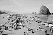 falconer 162B-12.  Cannon Beach, Sand Castle Festival, 1970, Oregon.