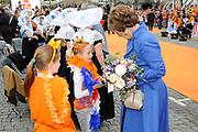 Koninginnedag 2010 . De Koninklijke familie in het zeeuwse  Middelburg. / Queensday 2010. De Royal Family in Middelburg.<br /> <br /> op de foto / on the photo Prinses Margriet