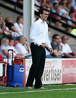 Photo: Steve Bond.<br />Walsall v Swansea City. Coca Cola League 1. 25/08/2007. Roberto Martinez still can't relax