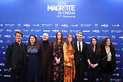 Brussels , 01/02/2020 : Les Magritte du Cinema . The Academie Andre Delvaux and the RTBF, producer and TV channel , present the 10th Ceremony of the Magritte Awards at the Square in Brussels .<br /> Pix:  Benoit Roland; Laurent Micheli; Mya Bollaers; Raf Keunen; Julie Naas<br /> Credit : Alexis Haulot - Dana Le Lardic - Didier Bauwerarts - Frédéric Sierakowski - Olivier Polet / Isopix