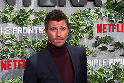 Garrett Hedlund attends the Triple Frontier premiere held at Callao Cinema on March 6, 2019 in Madrid, Spain. Photo by Alconada/AlterPhotos/ABACAPRESS.COM