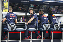September 14, 2018 - Singapore, Singapore - Motorsports: FIA Formula One World Championship 2018, Grand Prix of Singapore, .HORNER Christian  (gbr), Team Principal of Red Bull Racing  (Credit Image: © Hoch Zwei via ZUMA Wire)