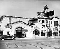 1942 Brown Derby Restaurant on Vine Street