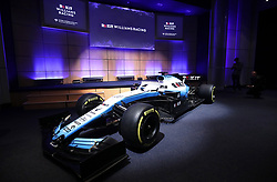 Unveiling of the new livery FW42 during the Williams 2019 livery launch at Williams Conference Centre, Grove.