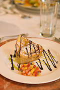 Fried won ton apple desert<br />