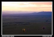 African Savannah In Soft First Light.Maasai Mara, Kenya.September 2012