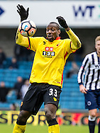 Stefano Okaka Chuka of Watford during the FA Cup match at The Den, London<br /> Picture by Liam McAvoy/Focus Images Ltd 07413 543156<br /> 29/01/2017
