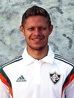 "Brazilian Football League Serie A / <br /> ( Fluminense Football Club ) - <br /> Johnath Marlone Azevedo da Silva "" Marlone """