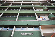 Fred Wigg Tower, a high rise block of council flats on the Montague Road Estate in Leytonstone, East London. On 12th July 2012, the military arrived to install surface to air missiles on the roof of the apartment block. Residents complained that having the missiles there during the Olympics could increase the chance of a terrorist attack in the area. On the other hand, the Metropolitan Police have concluded that there is no 'credible threat'.
