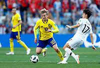 Emil Forsberg (Sweden) and Jaesung Lee (Korea Republic)<br /> Nizhny Novgorod 16-06-2018 Football FIFA World Cup Russia  2018 <br /> Sweden - South Korea / Svezia - Corea del Sud <br /> Foto Matteo Ciambelli/Insidefoto