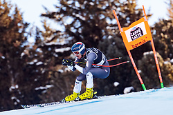 29.12.2017, Stelvio, Bormio, ITA, FIS Weltcup, Ski Alpin, alpine Kombination, Abfahrt, Herren, im Bild Bryce Bennett (USA) // Bryce Bennett of the USA in action during the downhill competition for the men's Alpine combination of FIS Ski Alpine World Cup at the Stelvio course, Bormio, Italy on 2017/12/29. EXPA Pictures © 2017, PhotoCredit: EXPA/ Johann Groder