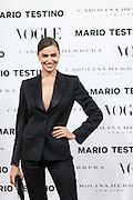 Irina Shayk at Vogue December Issue Mario Testino Party