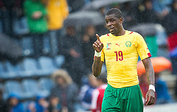29.05.2014, Kufstein Arena, Kufstein, AUT, FIFA WM, Testspiel, Kamerun vs Paraguay, im Bild Idrissou Mohammadou (Kamerun) // Idrissou Mohammadou (Kamerun) during friendly match between Cameroon and Paraguay for Preparation of the FIFA Worldcup Brasil 2014 at the Kufstein Arena in Kufstein, Austria on 2014/05/29. EXPA Pictures © 2014, PhotoCredit: EXPA/ JFK