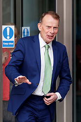 © Licensed to London News Pictures. 11/06/2017. London, UK. ANDREW MARR leaves BBC Broadcasting House in London after The Andrew Marr show on Sunday 11 June 2017. Photo credit: Tolga Akmen/LNP