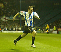 Photo: Aidan Ellis.<br /> Sheffield Wednesday v Manchester City. The FA Cup. 07/01/2007.<br /> Wednesday's Steven McLean celebrates after scoring the equaliser