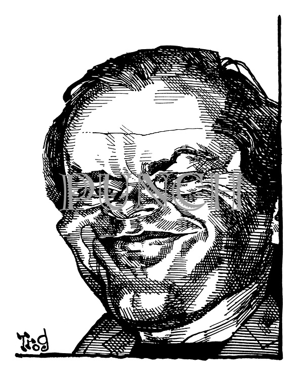 (Portrait of Jack Nicholson)