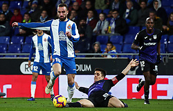 January 4, 2019 - Barcelona, Spain - Sergi Darder during the match between RCD Espanyol and CD Leganes, corresponding to the week 18 of the Liga Santander, played at the RCDE Stadium on 04th January 2019 in Barcelona, Spain. (Credit Image: © Joan Valls/NurPhoto via ZUMA Press)