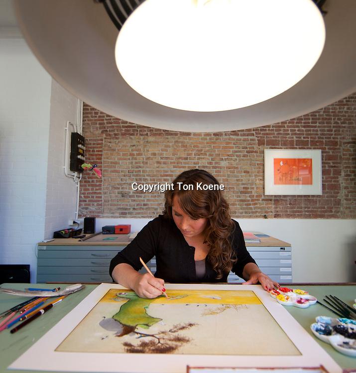 Dutch illustrator marije tolman