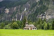 Kandersteg, in the canton of Bern, Switzerland, Europe.