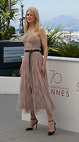 at the The Beguiled film photo call at the 70th Cannes Film Festival Wednesday 24th May 2017, Cannes, France. Photo credit: Doreen Kennedy