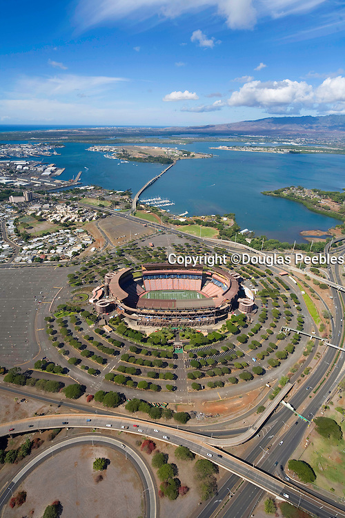 Aloha Stadium, Pearl City, Oahu, Hawaii