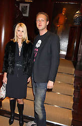 PETRINA KHASHOGGI and LORD EDWARD SPENCER-CHURCHILL at a party at Ralph Lauren, Bond Street, London in support of the NSPCC's Full Stop campaign on 21st March 2006.<br /><br />NON EXCLUSIVE - WORLD RIGHTS