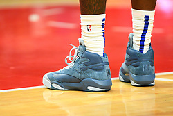 December 21, 2018 - Los Angeles, CA, U.S. - LOS ANGELES, CA - DECEMBER 20: Los Angeles Clippers Center Montrezl Harrell (5) Reebok Shaq shoes during a NBA game between the Dallas Mavericks and the Los Angeles Clippers on December 20, 2018 at STAPLES Center in Los Angeles, CA. (Photo by Brian Rothmuller/Icon Sportswire) (Credit Image: © Brian Rothmuller/Icon SMI via ZUMA Press)