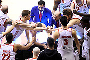 Buscaglia Maurizio<br /> Grissin Bon Reggio Emilia - Openjobmetis Varese<br /> Lega Basket Serie A 2019/2020<br /> Cremona, 23/11/2019<br /> Foto A.Giberti / Ciamillo - Castoria