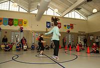 Elm Street School Jump Rope for Heart event.  Karen Bobotas for the Laconia Daily Sun