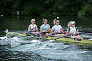 Henley Royal Regatta, Henley on Thames, Oxfordshire, 29 June-3 July 2015.  Saturday  10:40:38   02/07/2016  [Mandatory Credit/Intersport Images]<br /> <br /> Rowing, Henley Reach, Henley Royal Regatta.<br /> <br /> The Princess Grace Challenge Cup<br /> Reading Rowing Club and Leander Club