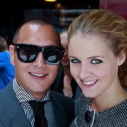 NLD/Amsterdam/20110904 - Grazia PC Catwalk 2011, Liza Sips en partner Joel Davans