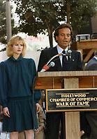 1985 Julio Iglesia's Walk of Fame ceremony