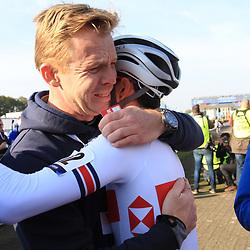 04-11-2018: Wielrennen: EK veldrijden: Rosmalen: Tom Pidcock wint de beloften wedstrijd in Rosmalen voor Eli Iserbyt en Antoine Benoist
