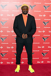 January 7, 2019 - London, United Kingdom of Great Britain and Northern Ireland - Will.i.am appeared at The Voice UK 2019 photocall on january 3 2019 in London  (Credit Image: © Famous/Ace Pictures via ZUMA Press)