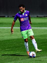 Jay Dasilva of Bristol City in action - Rogan/JMP - 21/08/2020 - Ashton Gate Stadium - Bristol, England - Bristol City v Cheltenham Town - Pre Season Friendly.