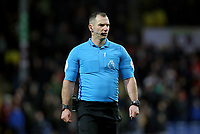 Debutant Premier League referee Tim Robinson<br /> <br /> Photographer Rich Linley/CameraSport<br /> <br /> The Premier League - Burnley v Newcastle United - Saturday 14th December 2019 - Turf Moor - Burnley<br /> <br /> World Copyright © 2019 CameraSport. All rights reserved. 43 Linden Ave. Countesthorpe. Leicester. England. LE8 5PG - Tel: +44 (0) 116 277 4147 - admin@camerasport.com - www.camerasport.com