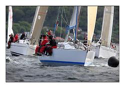 Savills Kip Regatta 2011, the opening regatta of the Scottish Yachting Circuit, held on the Clyde...Hops, GBR 3742, Davidson 36.
