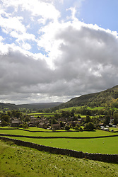 Yorkshire Dales, Kettlewell, Upper Wharfedale, UK Sep 2020