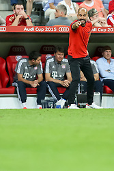 04.08.2015, Allianz Arena, Muenchen, GER, AUDI CUP, FC Bayern Muenchen vs AC Mailand, im Bild Bayern Muenchen vs AC Mailand, Fussball, Audi Cup, 04.08.2015, Foto: Joerg Schueler/Eibner // during the 2015 AUDI Cup Match between FC Bayern Muenchen and AC Mailand at the Allianz Arena in Muenchen, Germany on 2015/08/04. EXPA Pictures © 2015, PhotoCredit: EXPA/ Eibner-Pressefoto/ Schüler<br /> <br /> *****ATTENTION - OUT of GER*****