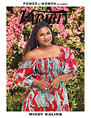 May 05, 2021 - US: Mindy Kaling Covers Variety Magazine - Power Of Women In Comedy