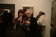 Noriko Miguchi and Anthony Fawcett. 'Invisible Ink' exhibition of work by Stephane Graff . Hamiltons. Carlos Place. London. 15 March 2006. ONE TIME USE ONLY - DO NOT ARCHIVE  © Copyright Photograph by Dafydd Jones 66 Stockwell Park Rd. London SW9 0DA Tel 020 7733 0108 www.dafjones.com