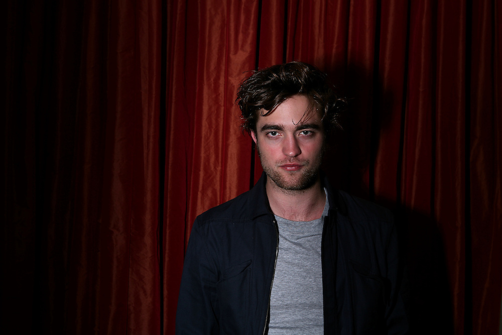 """Robert Pattinson plays the handsome, brooding young vampire Edward Cullen in """"Twilight"""", a movie based on the book series by Stephanie Meyer.  Photographed at the Hotel Crescent Court in Dallas, TX."""