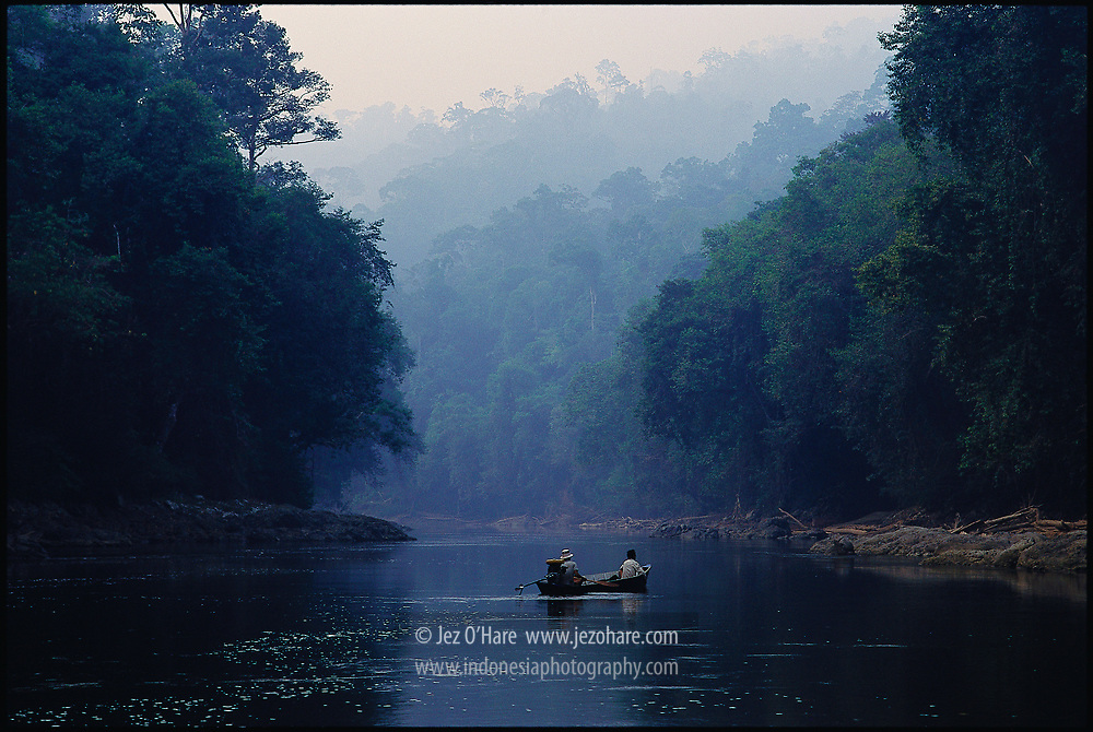Upper Belayan River, East Kalimantan, Indonesia.