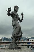 Statue of Bruce Lee, Hong Kong, China