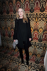 LADY ROSE ANSON at the opening of Luke Irwin's showroom at 22 Pimlico Road, London SW1 on 24th November 2010.