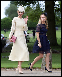 May 20, 2017 - Englefield, United Kingdom -  Donna Air  (cream) arriving at the wedding of Pippa Middleton and James Matthews at St.Mark's Church in Englefield, Berkshire. (Credit Image: © Stephen Lock/i-Images via ZUMA Press)