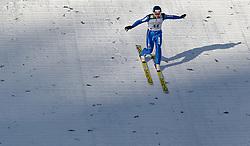 24.02.2017, Lahti, FIN, FIS Weltmeisterschaften Ski Nordisch, Lahti 2017, Nordische Kombination, Skisprung, im Bild Tim Hug (SUI) // Tim Hug of Switzerland during Skijumping of Nordic Combined competition of FIS Nordic Ski World Championships 2017. Lahti, Finland on 2017/02/24. EXPA Pictures © 2017, PhotoCredit: EXPA/ JFK